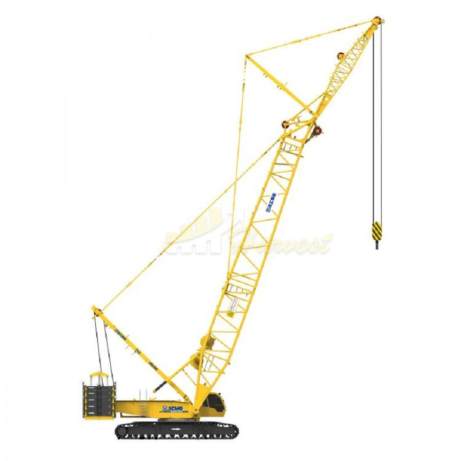 Popular XGC300 84m Boom 300t Heavy lift Duty Crane