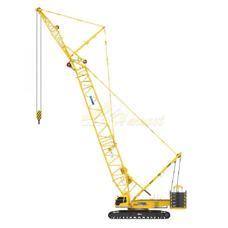 Popular XGC300 84m Boom 300t Heavy lift Duty Crane