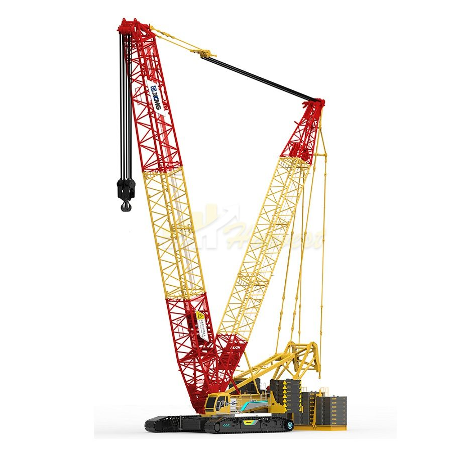 400 Ton Crawler Crane With Imported Diesel Engine XGC400