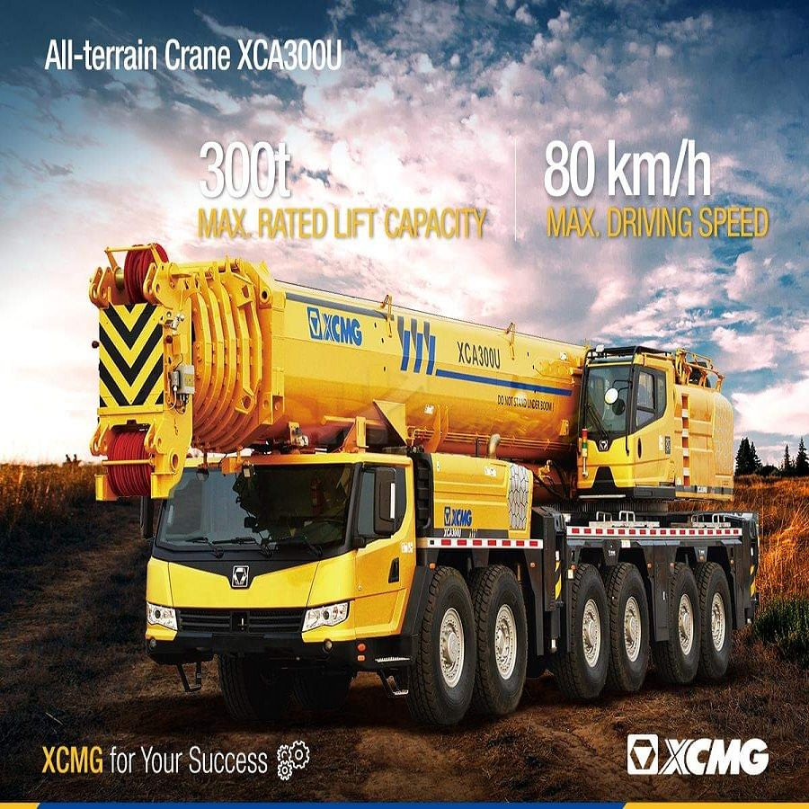 300 Ton All Terrain Crane