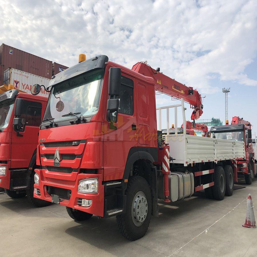 XCMG 12 Ton Telescopic Boom Truck Mounted Crane (SQ12SK3Q)