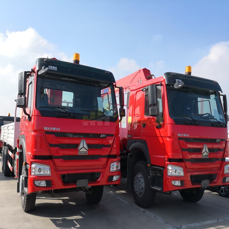 12ton Telescopic Boom Truck Crane XCMG Truck Mounted Crane