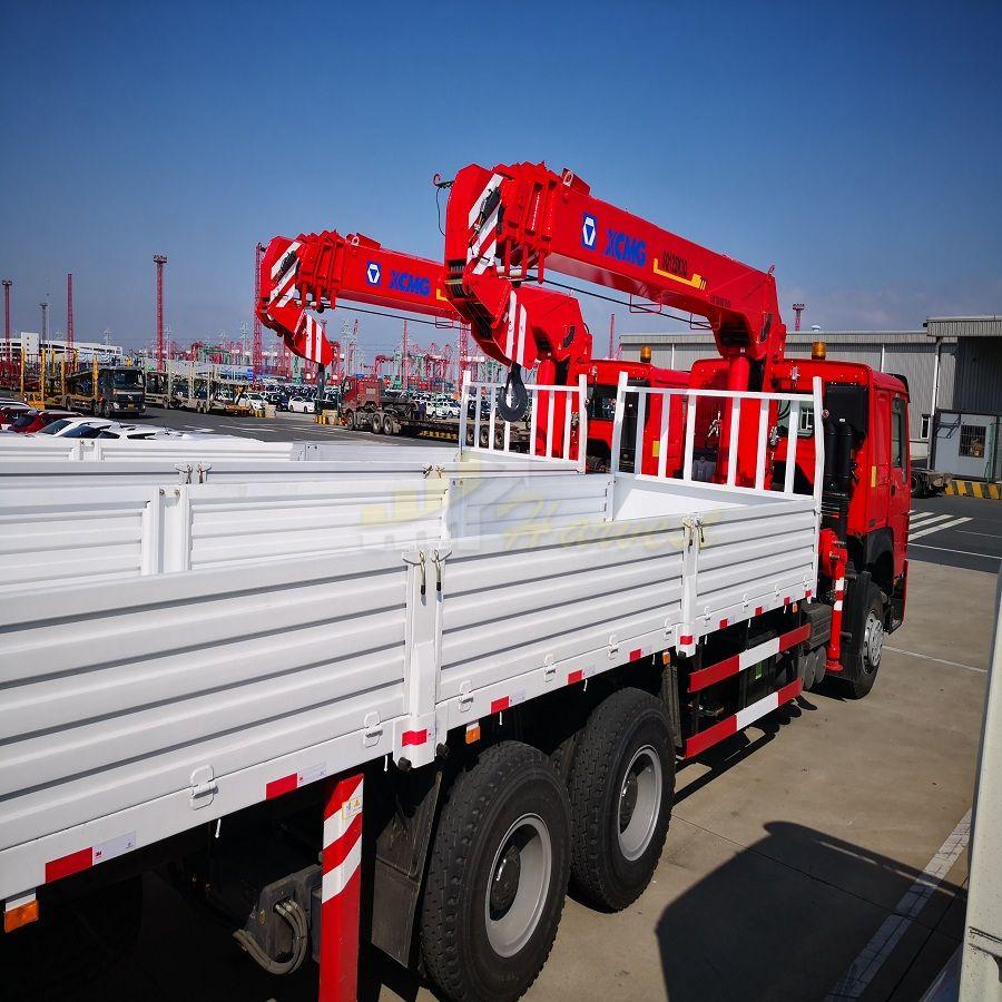 12ton Telescopic Boom Truck Crane