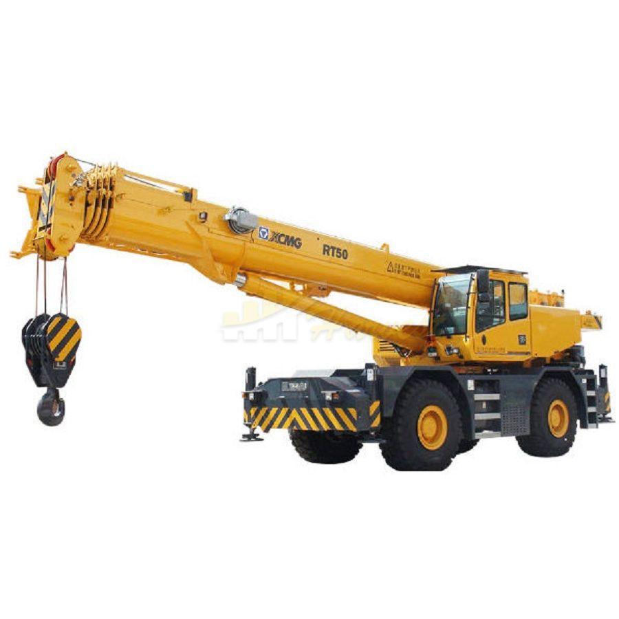 50 Ton Rough Terrain Crane
