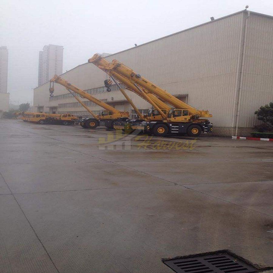 Rough Terrain Crane Supplier