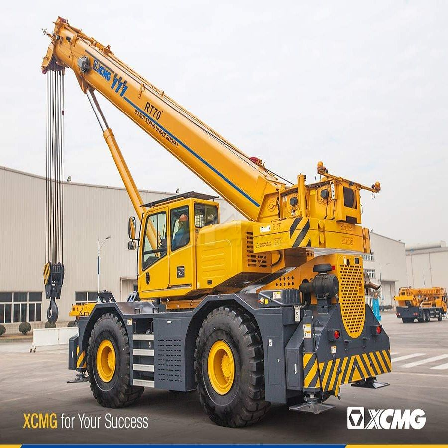 70 Ton XCM RT70E Original Rough Terrain Crane
