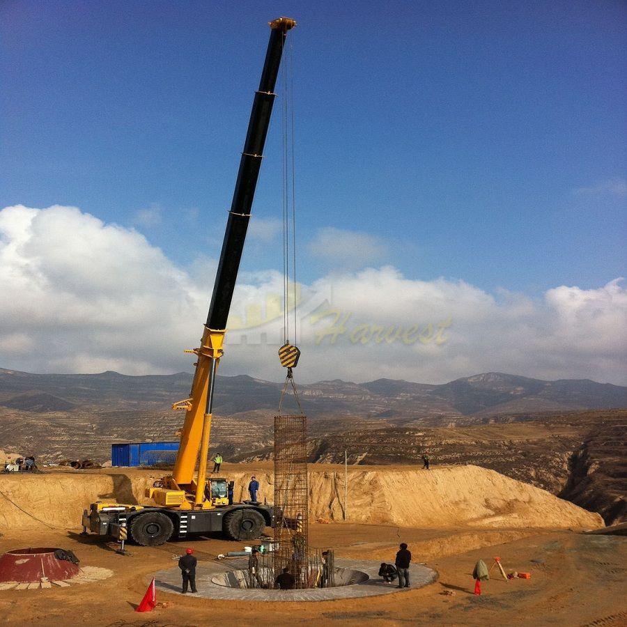 100 Ton Rough Mobile Terrain Crane