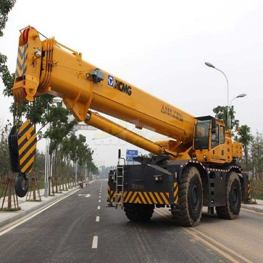 120 Ton RT120E Rough Terrain Crane for Sale