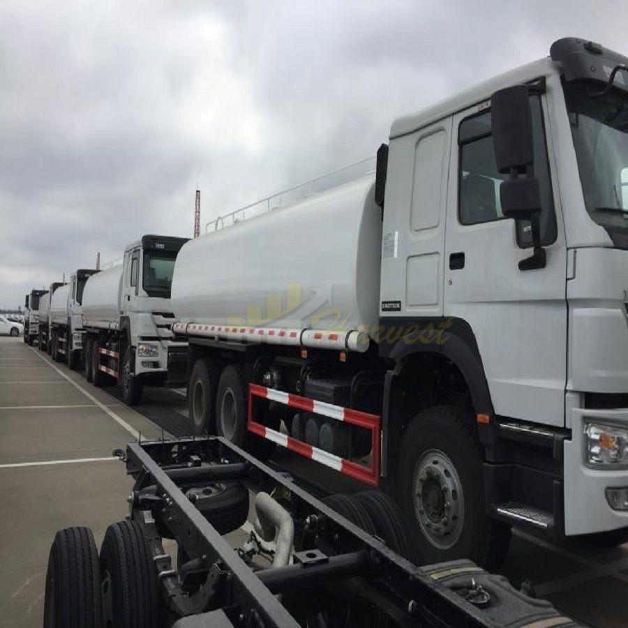 HOWO 18000 Liters Water Transportation Truck Water Tanker