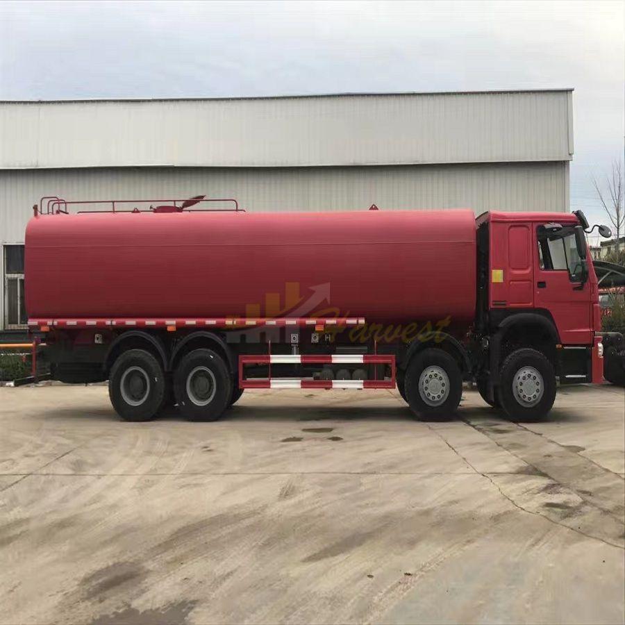 8X4 30m3 Sinotruk HOWO Tank Truck for Fuel Transportation