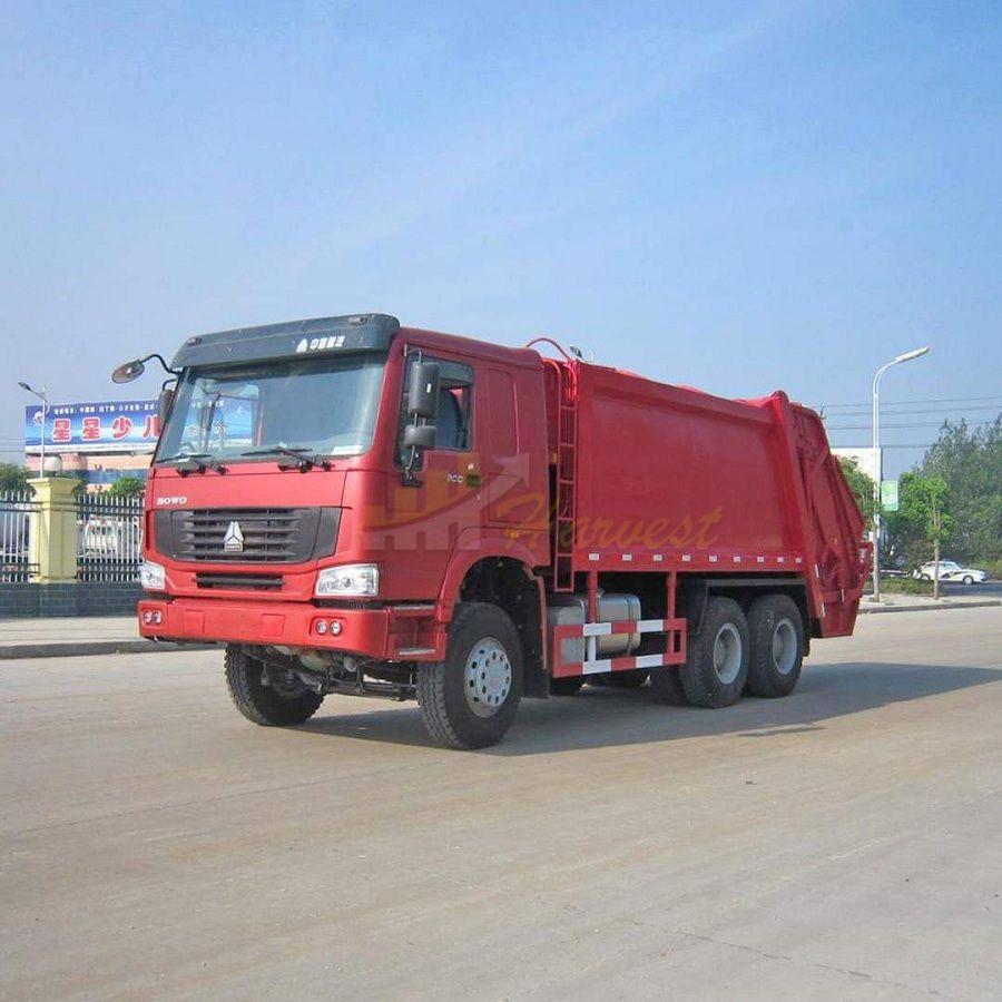 Sinotruk HOWO 6x4 16cbm Compactor Garbage Truck