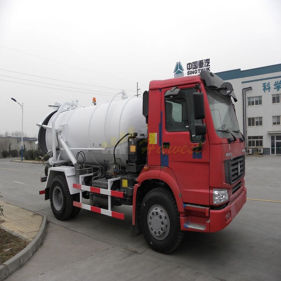 SINOTRUK HOWO 4x2 10000Liters Sewage Water Suction Truck