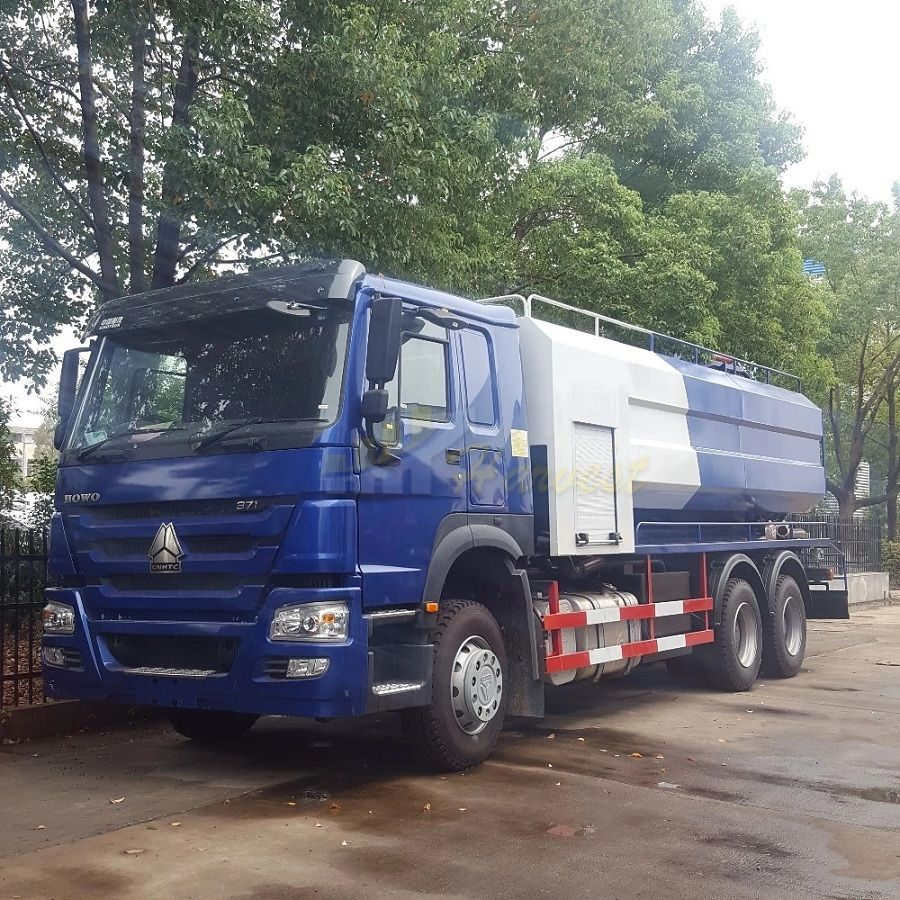 2019 New HOWO 100000 -15000L Sewage Suction Truck