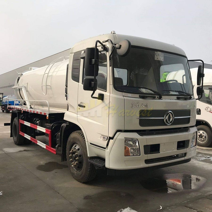 Dongfeng Sewage Suction Truck  with Cummins Engine for sale