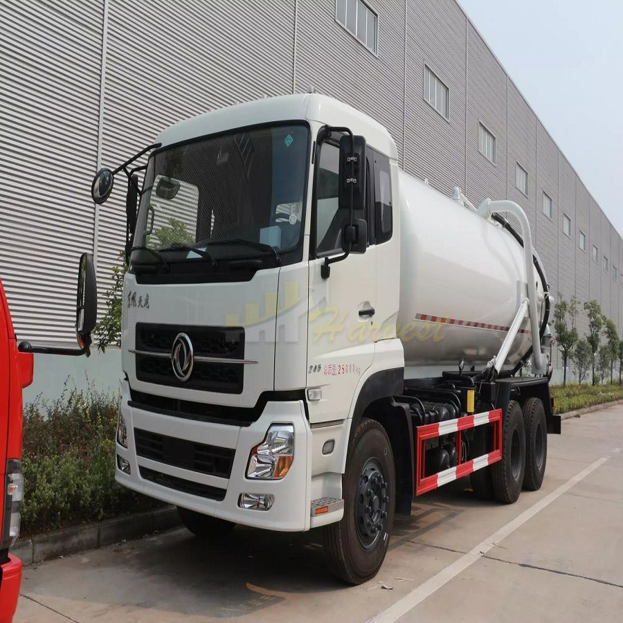 Dongfeng 18000liters Sewage Sucking Truck Sewer Sucking Truck