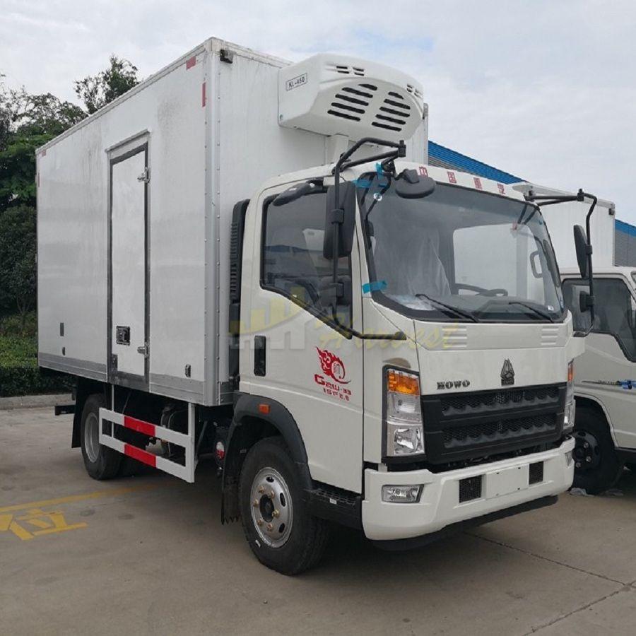 HOWO 4x2 Refrigerator Truck/ Refrigerator Cooling Van