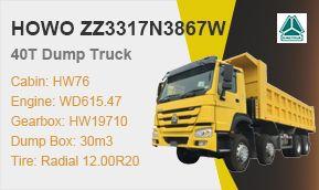 HOWO 8x4 45t 371hp Dump Truck