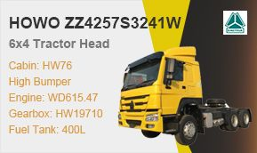 HOWO 6x4 371hp Tractor Head