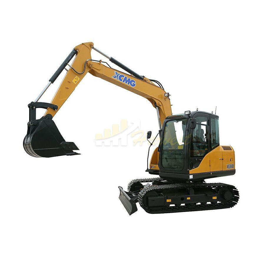 8t XE80D Crawler Excavator