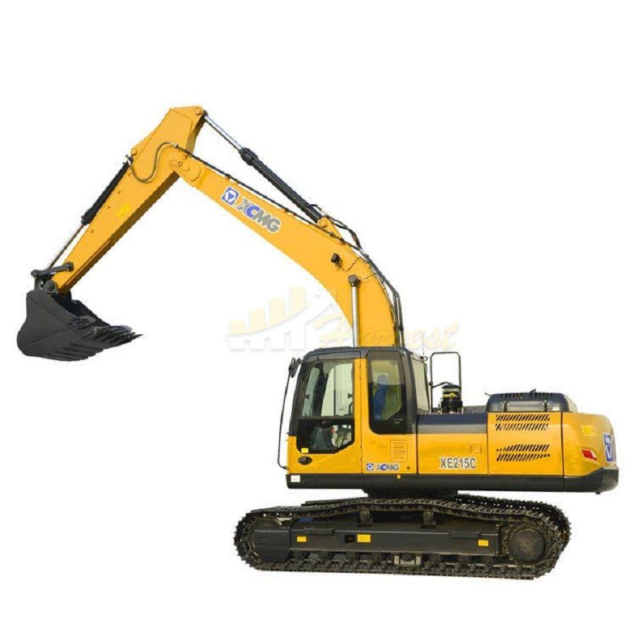 Xcmg 21 Ton XE215C Crawler Excavator Isuzu Engine 1m3 Bucket