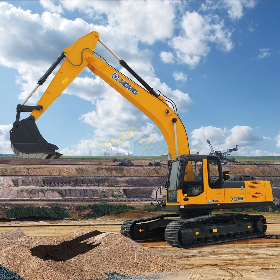 XCMG 26t XE265C Excavator with 1cbm Bucket & Isuzu Engine