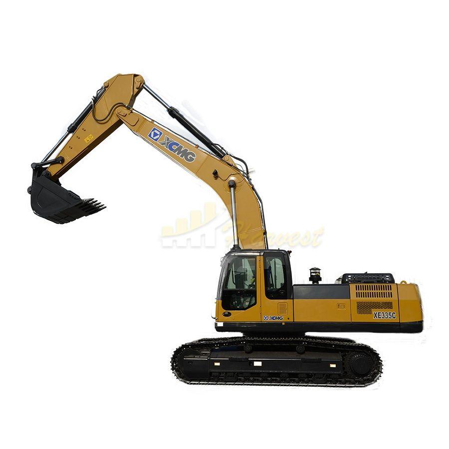 XCMG 35ton Xe335c Hydraulic Rock Breaker Excavator