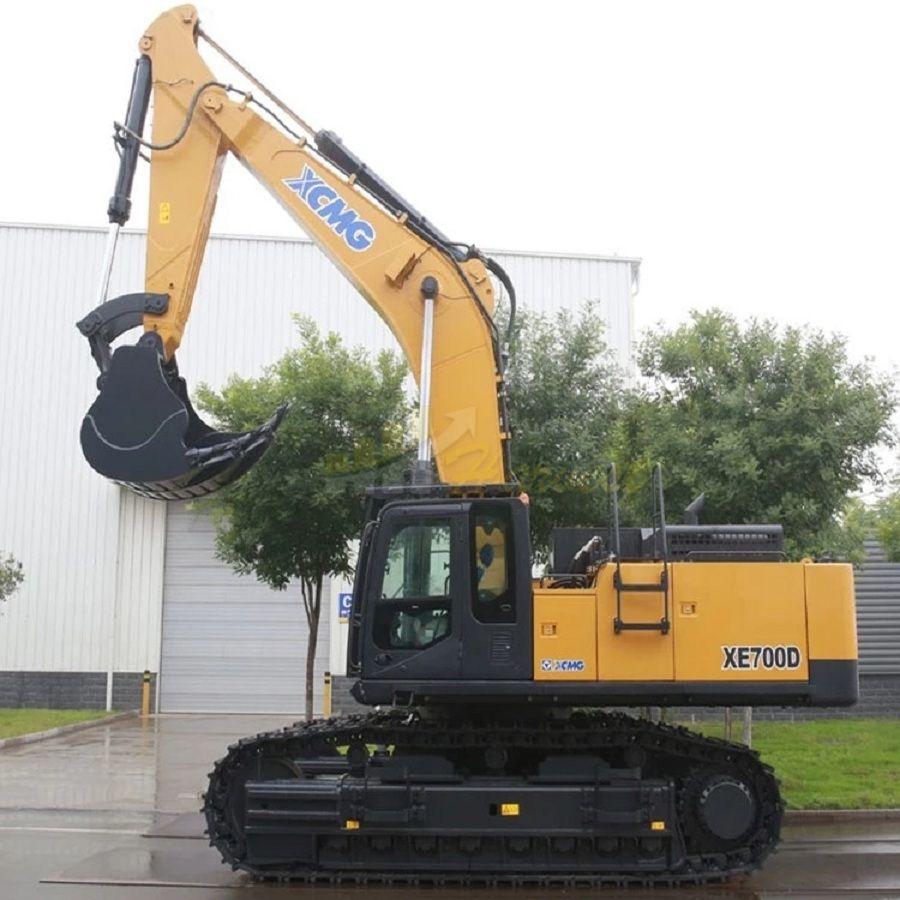 XCMG 70 ton 4.6 cbm XE700D Large Hydraulic Crawler Crawler Mining Excavator