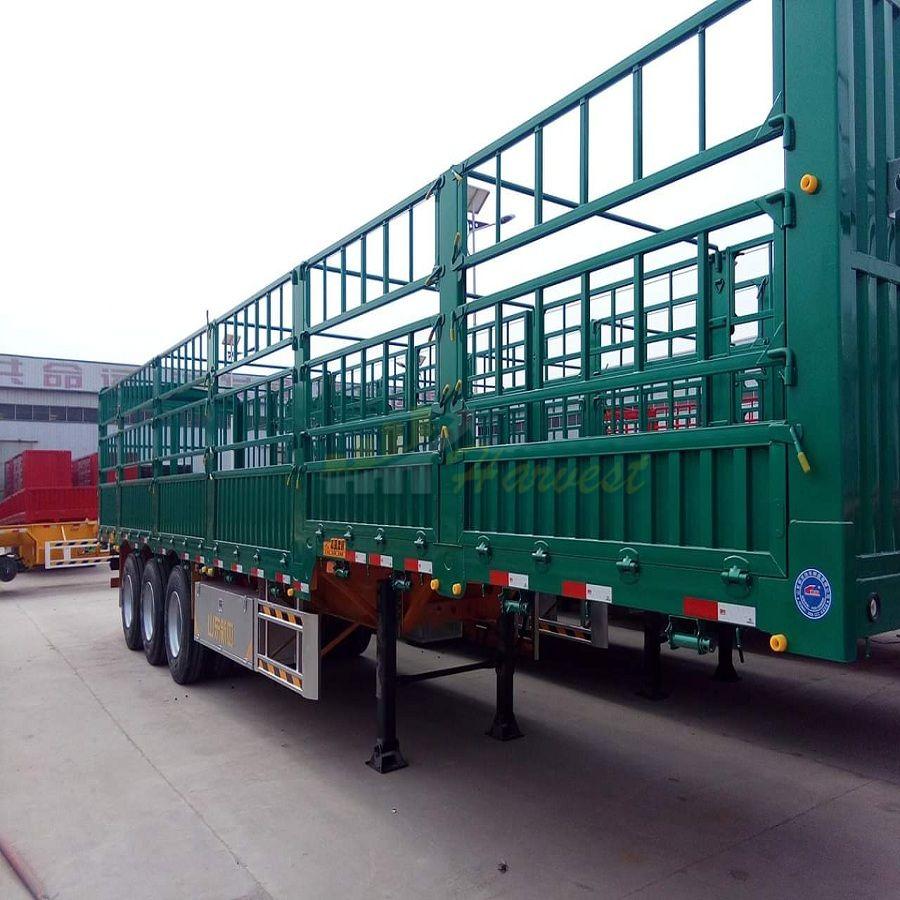40ft 3 Axles 70 Ton Stake Fence Semi Trailer