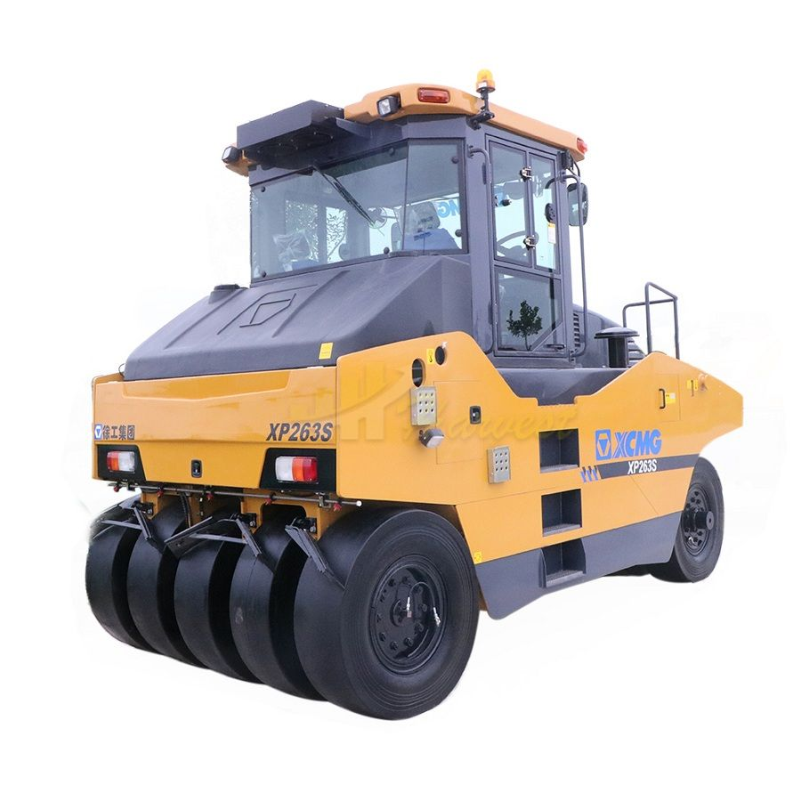 26ton XP263S Compactor Machine New Tyred Road Roller