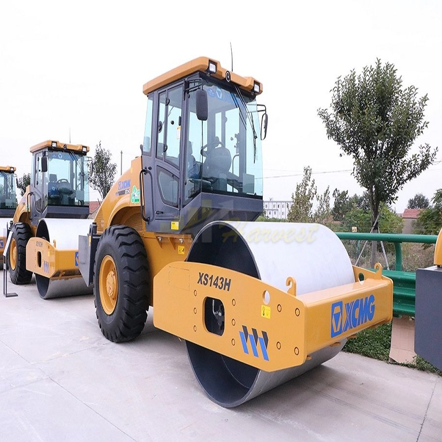 Full Hydraulic Single Drive Vibratory Roller