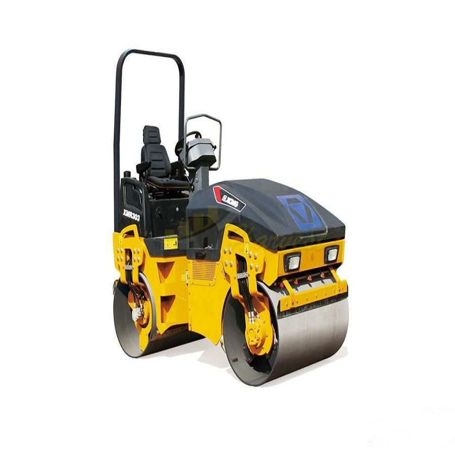 3 ton XMR303 Mini Double Wheel Vibratory Road Roller Light Compactor
