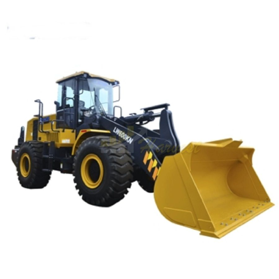 XCMG LW600KN Wheel Loader Large 6 Ton Mining Loader 3.0-4.5cbm Bucket Capacity