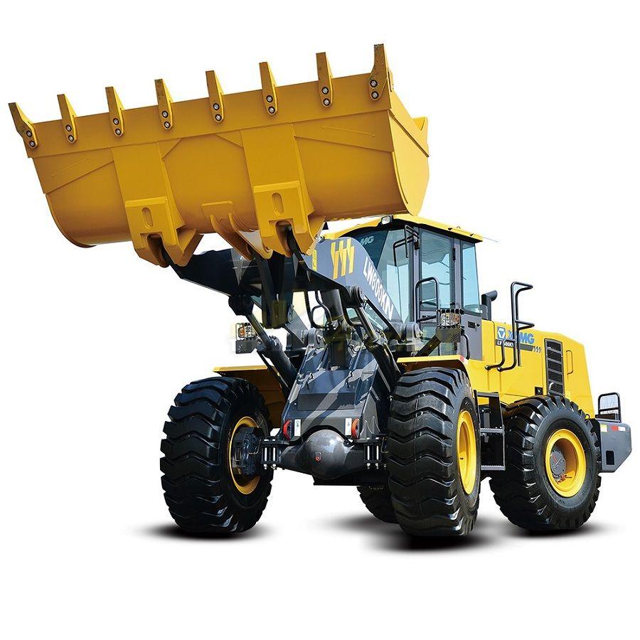 XCMG LW600KN Wheel Loader Large 6 Ton Mining Loader 3.0-4.5cbm Bucket Capacity
