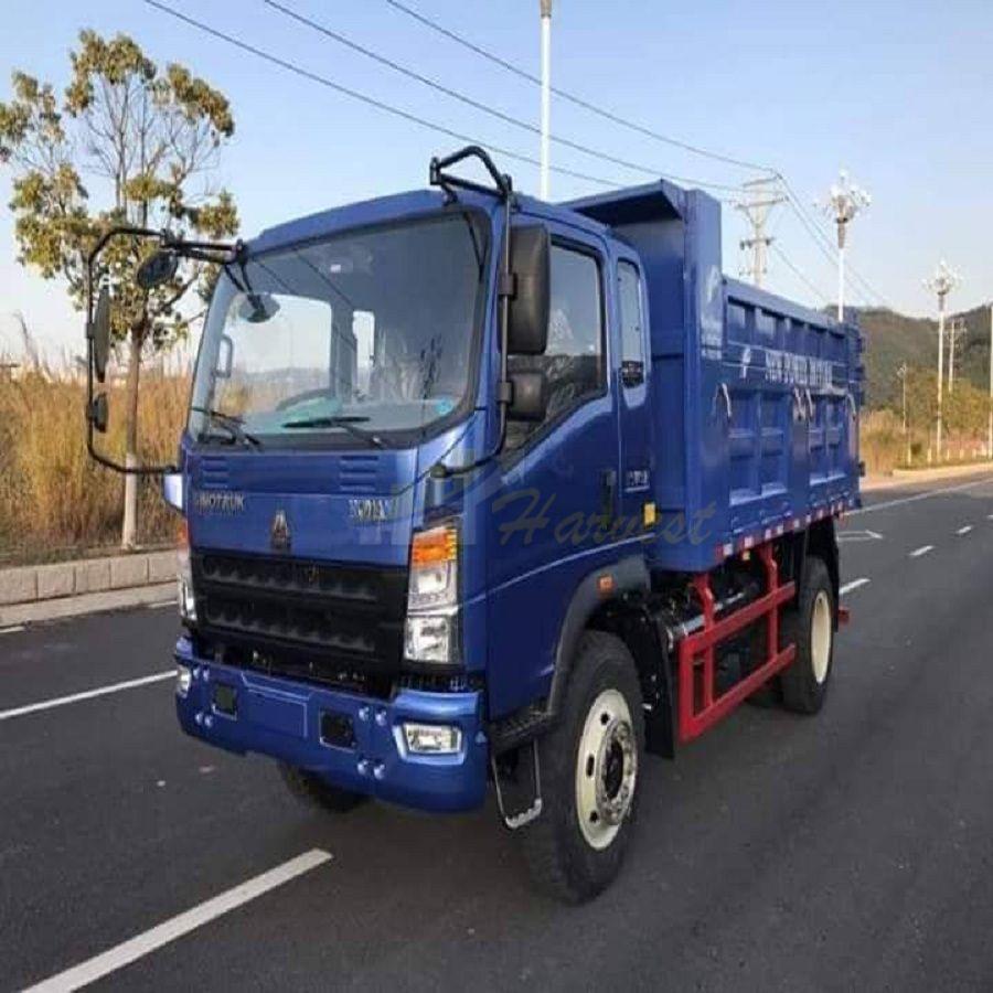 Howo Small Dump Trucks 10 ton for sale