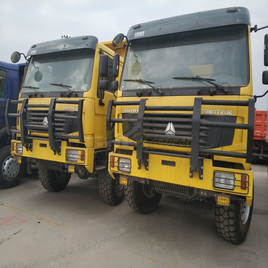 Sinotruk Howo 6x6 40 ton Dump Truck