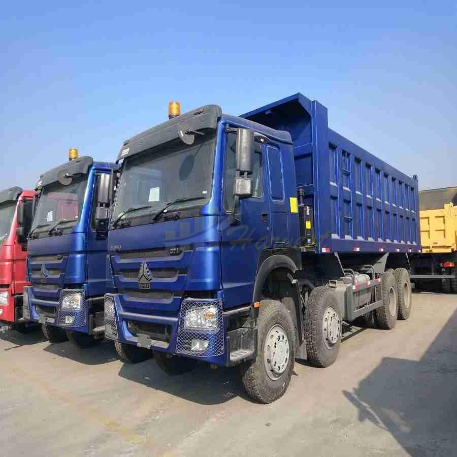 Howo RHD 8x4 Heavy Duty Dump Truck