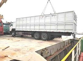 To Djibouti-1 Unit Howo 6x4 371hp Cargo Truck