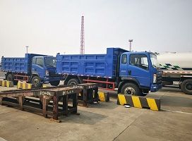 2 Units Sinotruk Homan Dump Truck shipped to Congo