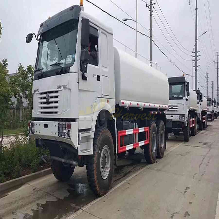 Sinotruk 6x6 18000 Liters Water Transportation Truck