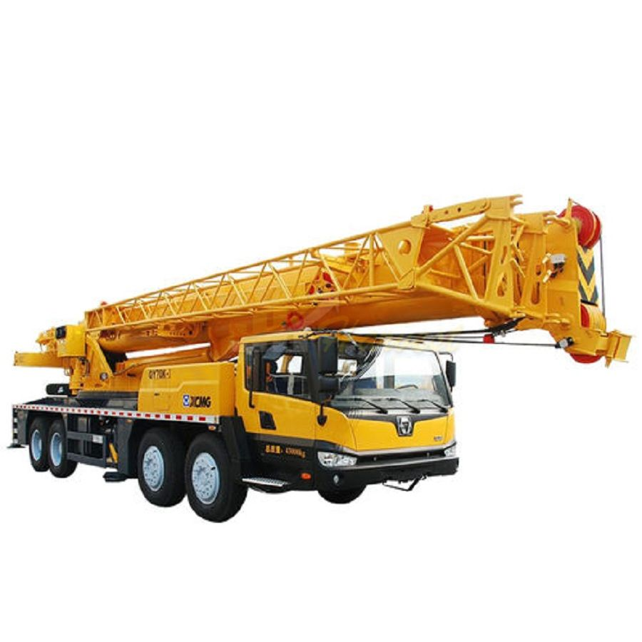 New 70 Ton  Mobile Crane QY70K-I Truck Crane in Uzbekistan
