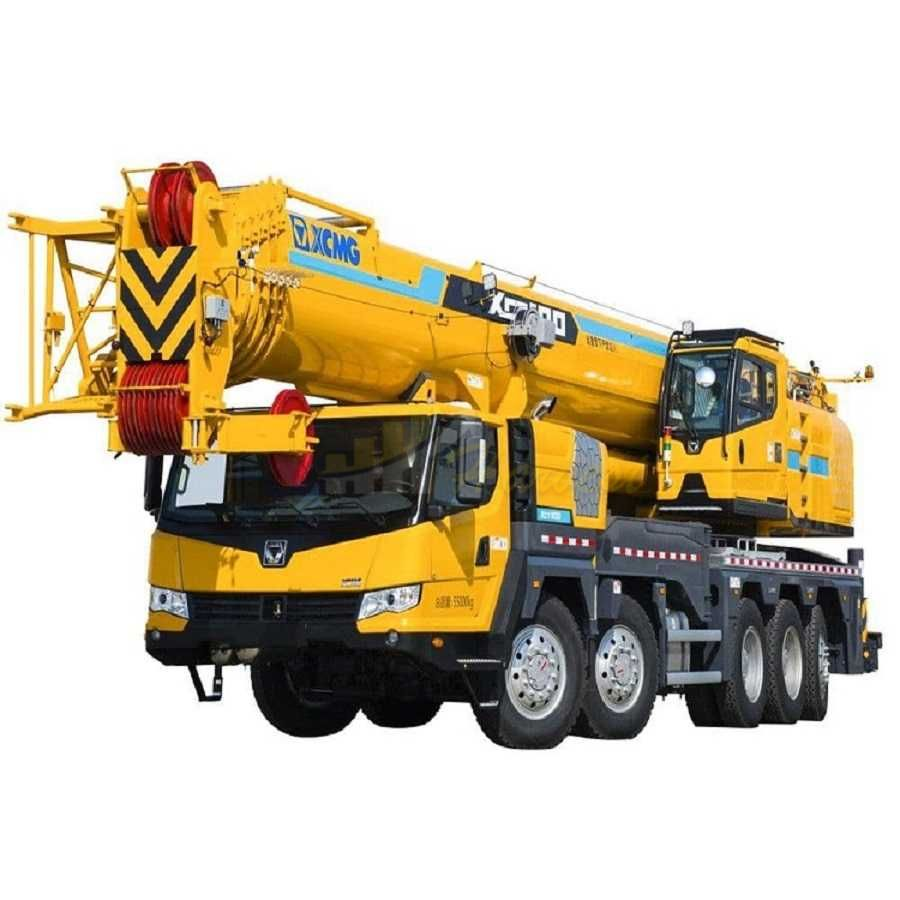 100 Ton Xct100 Lifting Truck Crane in Uzbekistan