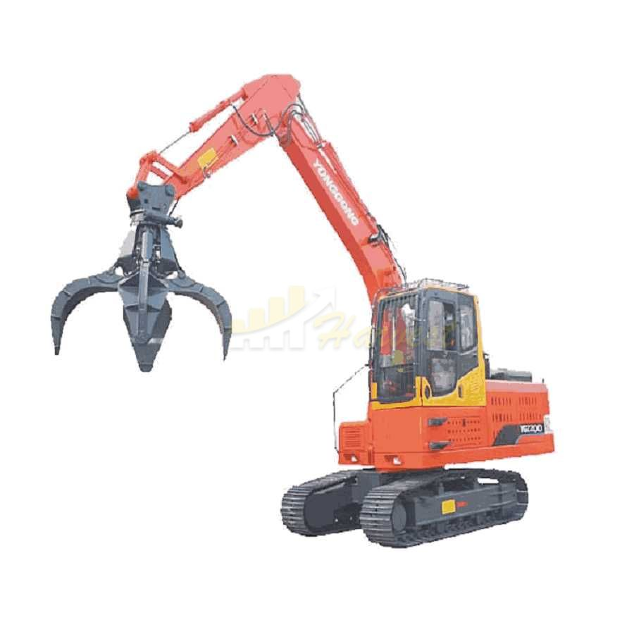 China Hydraulic Grapple Excavator Scrap Grab Scrap Steel Grabber
