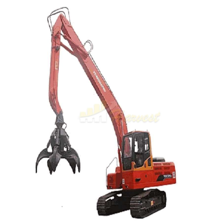 Scrap Metal Crawler Excavator Grab