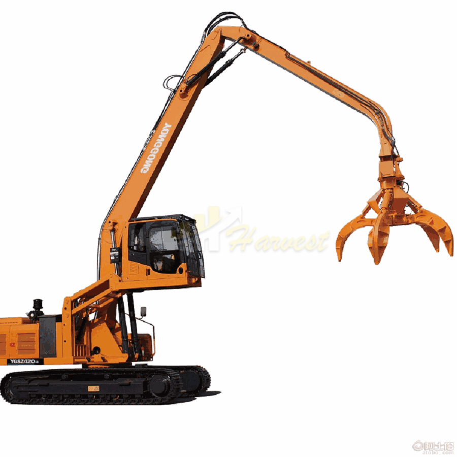 Scrap Grapple Steel Grabber Excavator at Best Price from China