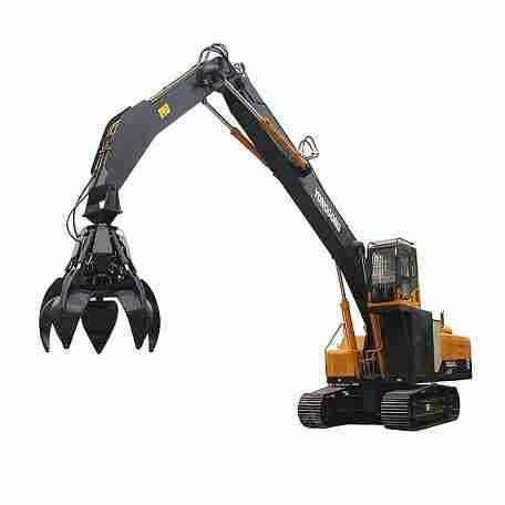 Steel Grabber Excavator