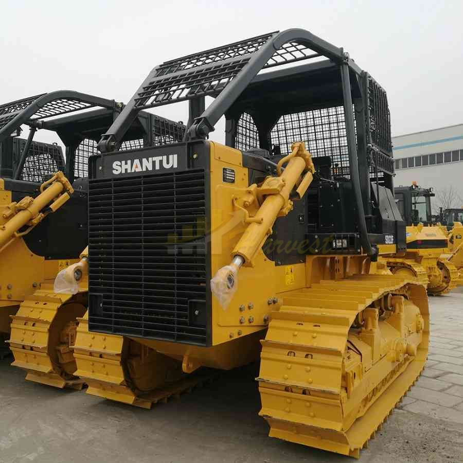 Shantui Sd22f 220hp Forest Bulldozer with Winch For Camroon, Ghana, Gabon