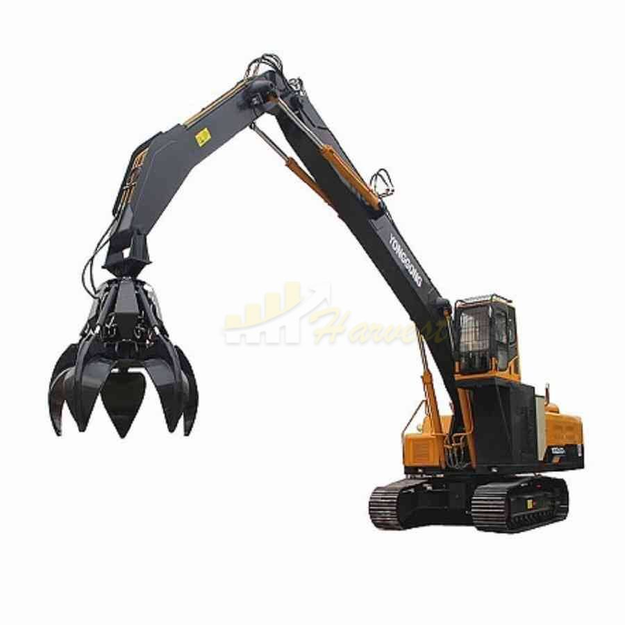 Orange Peel Grapples Steel Grab Scrap Metal Grapple