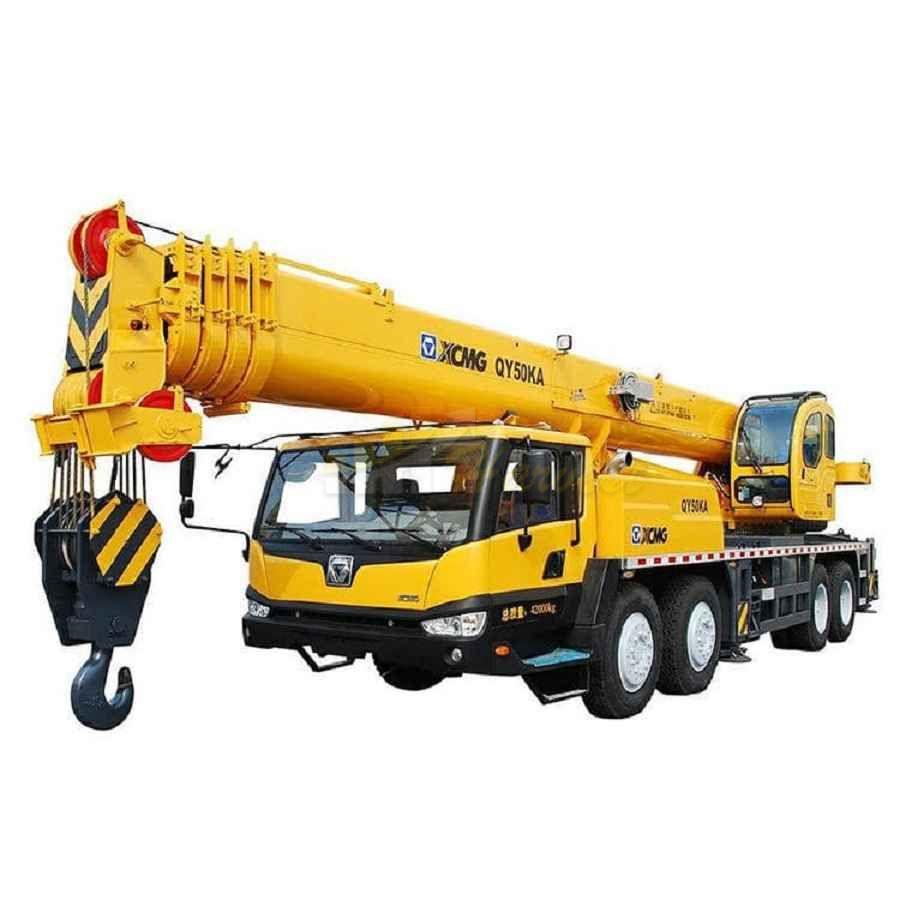 Xcmg 50 Ton Mobile Truck Crane Qy50ka in Uzbekistan
