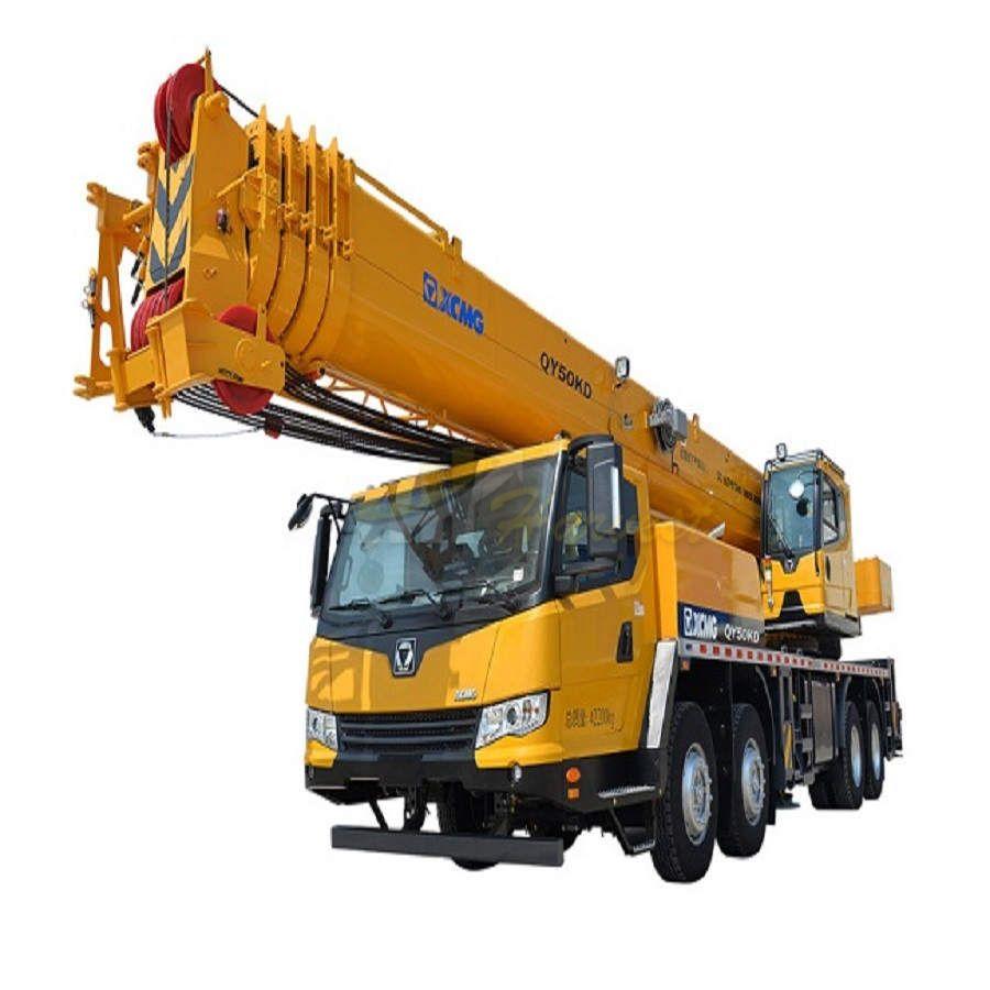 XCMG 50 Ton Mobile Truck Crane QY50KD for Uzbekistan