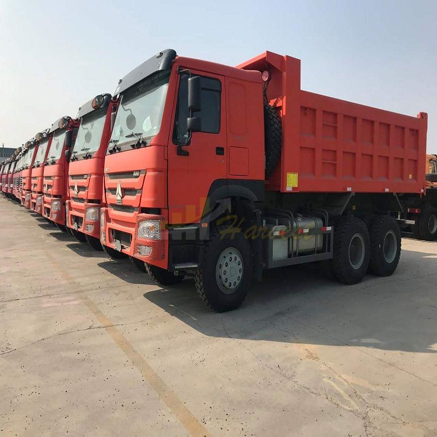 SINOTRUK 30 tons 20m3 371HP 6X4 10 Wheelers HOWO Tipper/Dumper/Dump Truck for Mining
